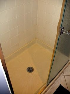 Cleaning Shower Floors