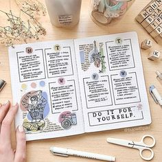 #bujolove hashtag on Instagram • Photos and Videos Bullet Journal 2019, Bullet Journal Spread, Bullet Journal Layout, Bullet Journal Ideas Pages, Bullet Journal Inspiration, Art Journal Pages, Bullet Journals, Scrapbook Journal, Travel Scrapbook
