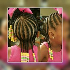 Braid Styles for Long Hair – Lavish Braids Little Girl Braid Styles, Little Girl Braid Hairstyles, Kid Braid Styles, Little Girl Braids, Girls Natural Hairstyles, Baby Girl Hairstyles, Black Girl Braids, Kids Braided Hairstyles, Braids For Kids