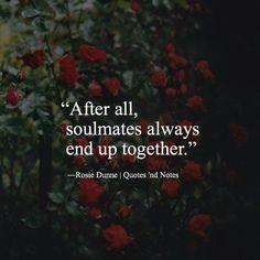After all soulmates always end up together. via (http://ift.tt/2zZhoiu)