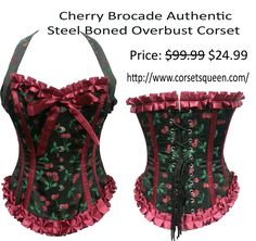Cheery Corset, overbust corset Corset Shop, Overbust Corset, Bikinis, Swimwear, Collection, Shopping, Color, Fashion, Bathing Suits