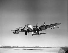 RCAF Avro Lancaster KB851 Carrying 2 X Ryan Firebee Drones