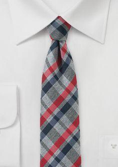 15625a3c4584 Businesskrawatte Karomuster kirschrot silbergrau marmoriert Cheap Neckties,  Tie Shop, Tie Length, Plaits,