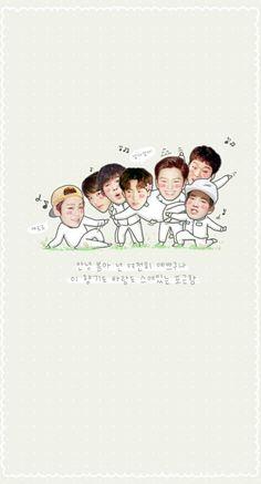 Sungjae Btob, Minhyuk, Btob Members, Born To Beat, Kpop Groups, Aesthetic Wallpapers, Chibi, Fangirl, Love You