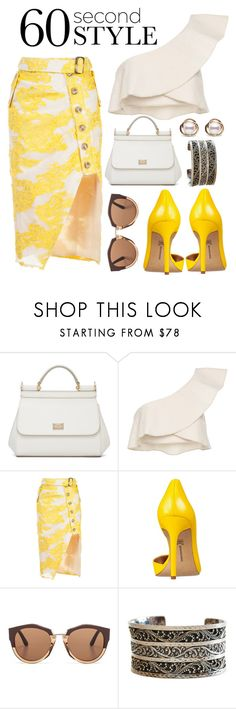 """""""Untitled #149"""" by faceless-girl on Polyvore featuring Dolce&Gabbana, Isabel Marant, self-portrait, INC International Concepts, Marni, Lois Hill, Trilogy, asymmetricskirts and 60secondstyle"""