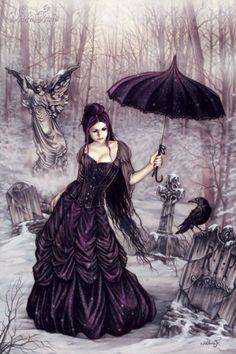 Victoria Frances - Parasol Girl