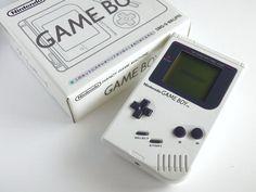 BOXED Rare Nintendo Game Boy Bros Pure White Console Original DMG Classic Model #Nintendo