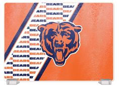 Chicago Bears Tempered Glass Cutting Board