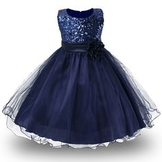 Cool 3-14yrs teenagers Girls Dress Wedding Party Princess Christmas Dresse for girl Party Costume Kids Cotton Party girls Clothing - $25.14 - Buy it Now!