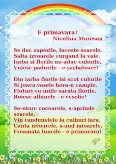E primavara! de Niculina Muresan Decorative Room Dividers, 8 Martie, Islam For Kids, Spring Crafts, Songs, Children, Young Children, Boys, Kids