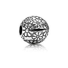Pandora Clip Gänseblümchen 791013 Sterling Silber