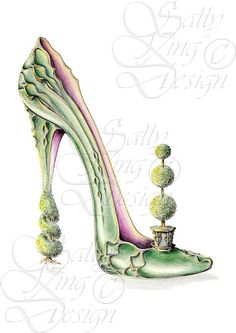 Topiary,sally king,shoes,womens shoes,boots,womens boots,womens fantasy shoes,ladies shoes,