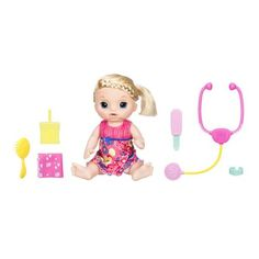 Baby Alive Sweet Tears Baby Blonde Doll Hasbro Baby Alive Dolls