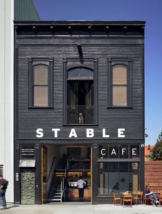 Stable Cafe San Francisco via AIA San Francisco