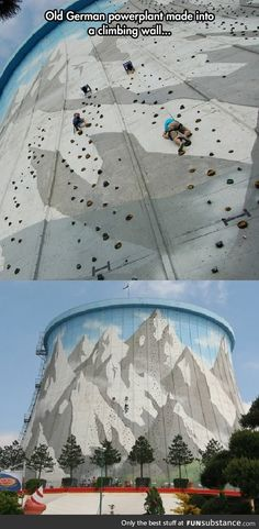 Incredible climbing wall<<<<< I need one in my house please...