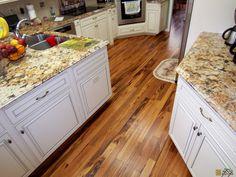 Brazilian Tigerwood Koa Hardwood Floor
