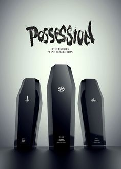 3 Devilishly Unholy Wine Bottle Designs