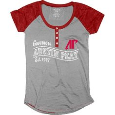 a89851d0b Austin Peay State University Governors Burnout Raglan Henley - Step Ahead