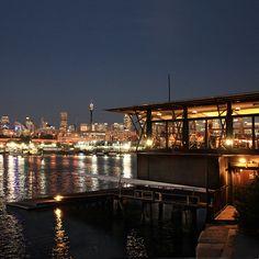 Reverse Sydney view at night