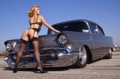 Girl And Car  http://babes-and-cars.tumblr.com/