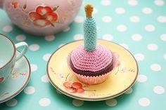 DIY: Hæklet fødselsdags Cupcake