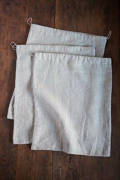 ambatalia - linen food bags