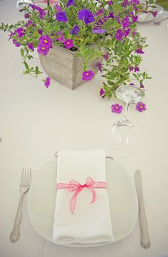 Like these natural flowers as centrepieces