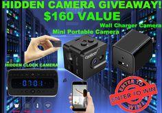 Hidden Camera Ultimate Bundle Giveaway! http://pompremium.com/giveaways/hidden-camera-giveaway/?lucky=143
