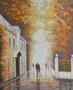 A Narrow Street by Rimantas Virbickas
