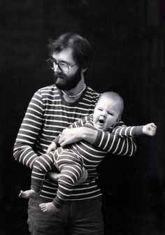 back, man with beards ...Polarn O. Pyret 1976 -- follow my board http://pinterest.com/davidos193/parent-child/