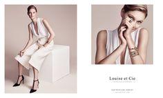 Patricia Van Der Vliet stars in Louise et Cie's fall-winter 2015 campaign