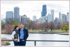 Modern and fun Chicago wedding photography and videography. Artistic wedding pictures in the Chicago suburbs. Chicago Skyline, New York Skyline, Wedding Photography And Videography, Chicago Wedding, Engagements, Wedding Pictures, Lincoln, Park, Portrait