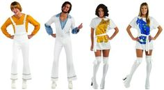 amazoncom abba agnethaanniebennybjorn adult group costume
