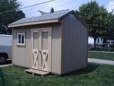 Saltbox shed plans for building a shed. Detailed building guide, shed plans, materials list, and email support. Backyard Sheds, Outdoor Sheds, 12x8 Shed, Diy Storage Shed Plans, Storage Sheds, Smart Storage, Shed Base, Shed Blueprints, Shed Construction