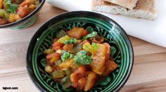Taktouka, Moroccan Cooked Tomato And Pepper Salad