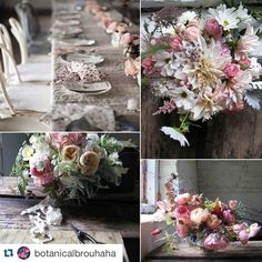 """""""Prairie Table"""" couldn't love this more #Repost @botanicalbrouhaha with @repostapp. ・・・ If you missed yesterday's BB post, check it out. We paired the work of two great designers, @the_blue_carrot  and @rachelashwell, for some beautiful romantic inspiration."""