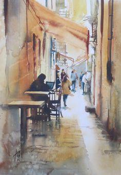 Aquarelles - Abbatucci violaine - Artiste peintre