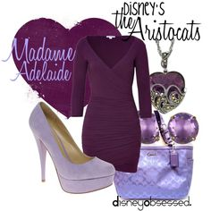 """The Aristocats: Madame Adelaide"" by disneyobsessed on Polyvore"