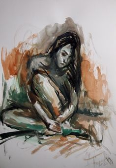 watercolours 35x50- 2014