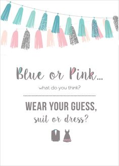 wear your guess gender reveal printable!!!!