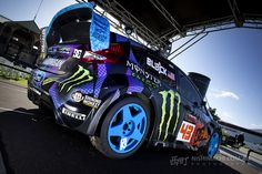 Ken Block's awesome Ford Fiesta Gymkhana car photographed by Michael of Nishimachi Photography at the Clipsal 500 Adelaide 2013.