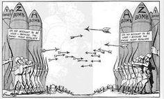 wapenwedloop. de wapenwedloop alle landen van de EU kunnen zien hoeveel wapens de anderen landen hebben om oorlog te verkomen .