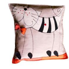 Декоративная подушка, авторская работа Nataly