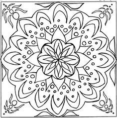 Coloriage Mandala Difficile - Les beaux dessins de Meilleurs Dessins à imprimer…