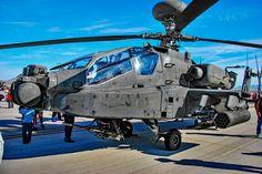 https://flic.kr/p/P3j6Wh | Boeing AH-64E Apache | Las Vegas - Nellis AFB (LSV / KLSV) Aviation Nation 2016 Air Show USA - Nevada, November 12, 2016 Photo: TDelCoro