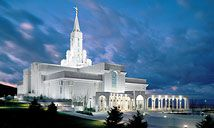 Bountiful Temple, where Brent proposed. Happy sigh.... I've had some other memorable experiences there, too. =o)