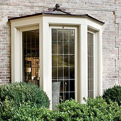Rather have diamond shaped window panes. Create a Modern Georgian Home   Balanced the Composition   SouthernLiving.com