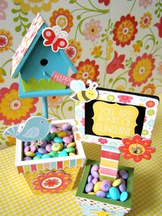 """@Echo Park Paper """"Hello, Summer"""" collection - Sweet Spring Celebrations set by Linda Auclair"""
