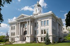 Missoula County Courthouse in Montana.