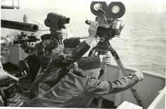 Battleship Tirpitz Photographers Film Combat In North Sea Norway
